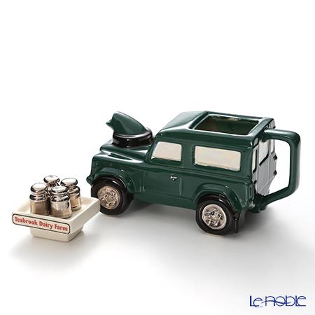 Teapottery Land Rover Teapot, farm S