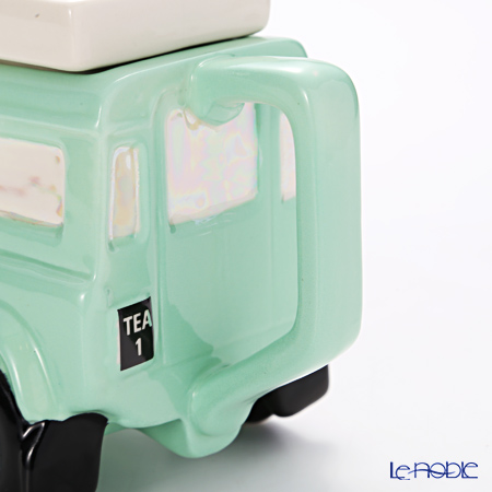 Teapottery Land Rover Teapot, pastel green S