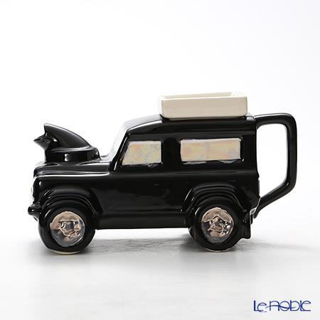 ティーポッタリー Teapottery ランドローバー(ブラック) 14.5×19.5 S