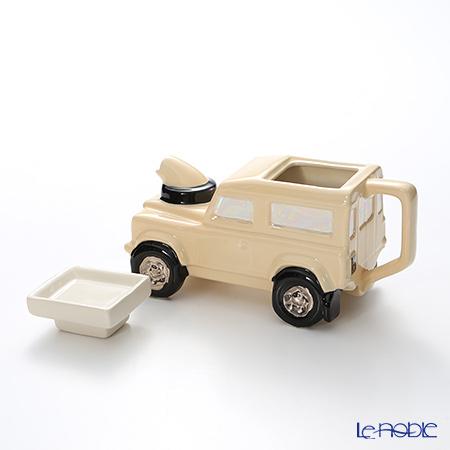 Teapottery Land Rover Teapot, cream S