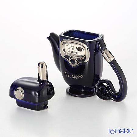 Teapottery Mobile Phone Teapot, blue S