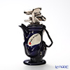 Teapottery Golf Bag Teapot, blue M