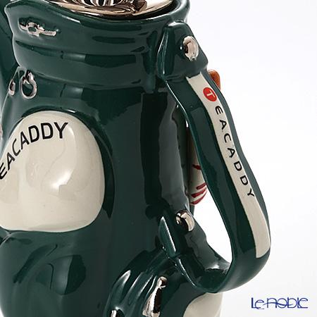 Teapottery 'Golf Bag' Dark Green Tea Pot (M)