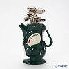 Teapottery Golf Bag Teapot, green M