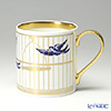 Flux Willow Blues Mug - Gold