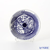 Flux Stoke on Trent 'Spiro' Cobalt Blue Mini Collectable Plate 11.5cm
