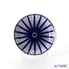 Flux Stoke on Trent 'Tropical' Cobalt Blue Mini Collectable Plate 11.5cm