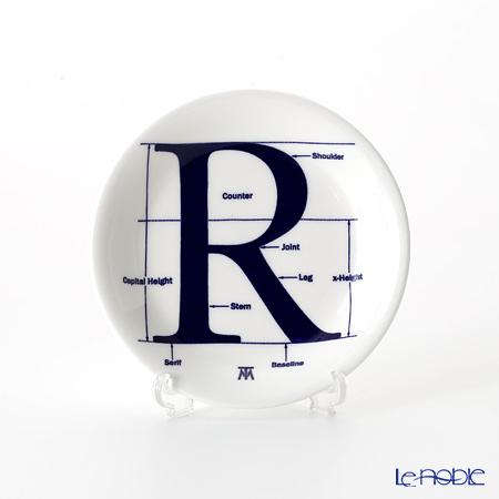 フラックス ストークオントレント Type Mattersミニプレート 11.8cm(コバルト)