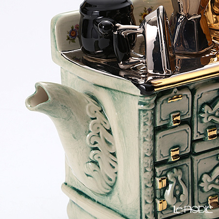 Tipottary Teapottery French stove (green)