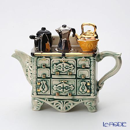 ティーポッタリー Teapottery フレンチストーブ(グリーン)
