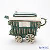 Tipottary Teapottery Romany caravan (green)