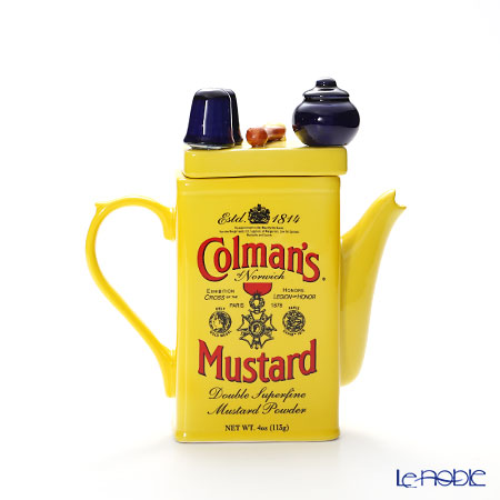 Tipottary Teapottery Colman mustard M