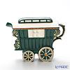 Tipottary Teapottery Romany caravan (green) S