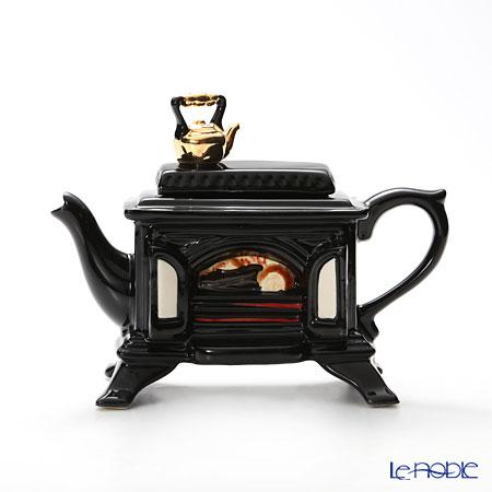 ティーポッタリー Teapottery ストーブ(ブラック) S