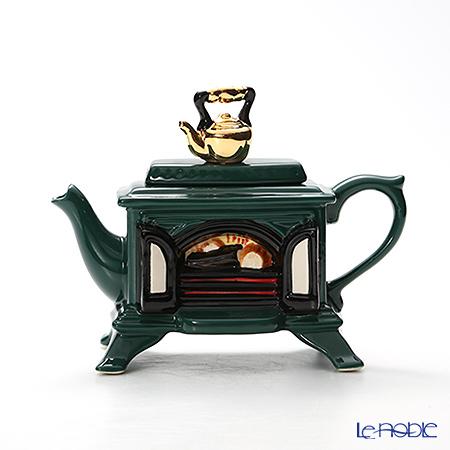 ティーポッタリー Teapottery ストーブ(グリーン) 13×19 S