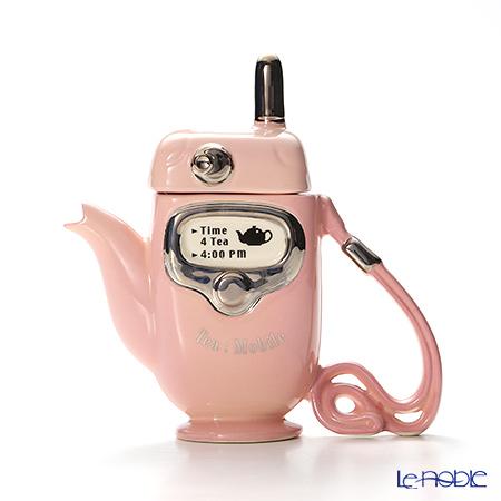 ティーポッタリー Teapottery モバイルフォン(ピンク) 18×17