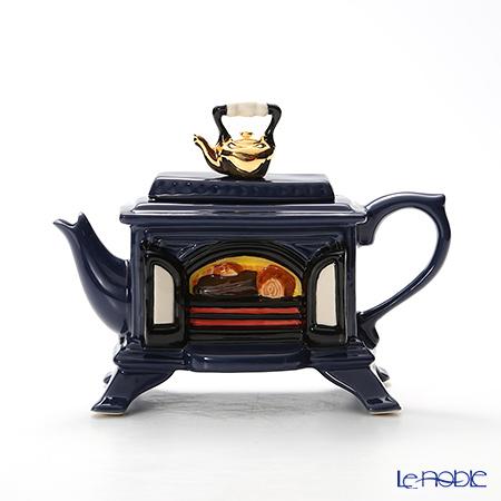 ティーポッタリー Teapottery ストーブ(ブルー) 13×19 S