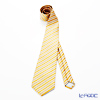 Jim Thompson Thai silk tie 118142 AEC Orange regimen