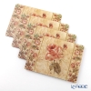 Pimpernel-antique rose Place mat set 4-Cork