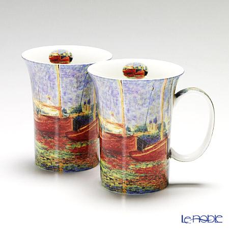 プリモビアンコ アートコレクション マグ ペア モネ 「赤いボート」