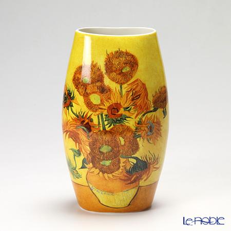 プリモビアンコ アートコレクション 花瓶 ゴッホ-ひまわり-