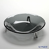 Glassious 'Life' Fume Black LIF-030F Bowl with Metal feet 33xH10cm