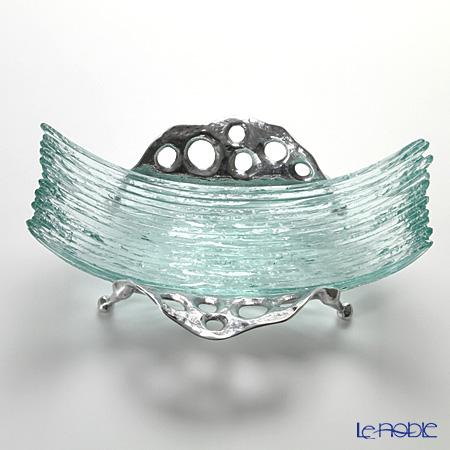 Glassious 'Wave' White WAV-030 Object 40x28xH16cm