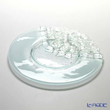 Glassious 'Aphrodite' White AFR-030 Tray / Wide Rimmed Plate 36cm