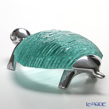 Glassious 'Zoo - Turtle' White ZOO-020 Animal Object 45x27xH13cm