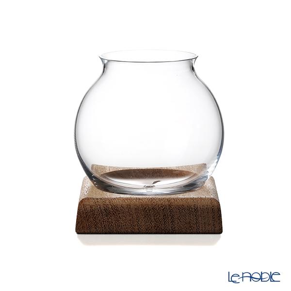 酒器 天頂(てんちょう) by Philippe Jamesse フィリップ・ジャムス ガラス製 木製台座付 200ml