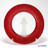 Vetro Felice 'Glitter' Red Charger Plate 33cm