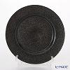 Vetro Felice glitter 323933C Charger plate 33 cm dark grey G019 1/6