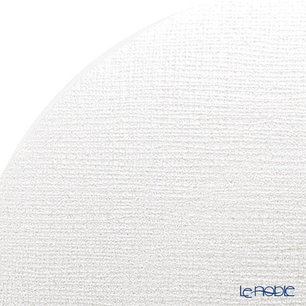 Vetro Felice 'Glitter' White Plate 28cm