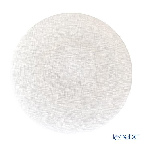 Vetro Felice ヴェトロ フェリーチェ グリッター プレート 28cm ホワイト 323928B G014