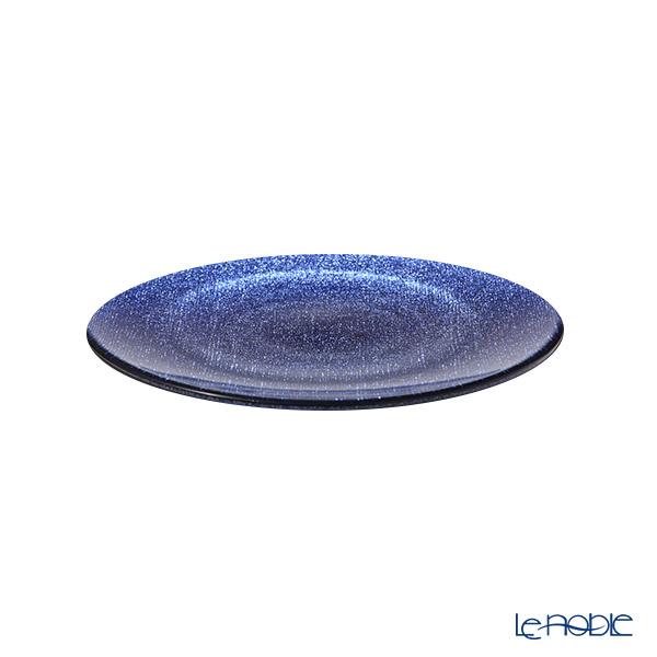 Vetro Felice 'Glitter' Dark Blue Plate 21cm