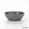 Vetro Felice 'Glitter' Dark Grey Flat Bowl 13cm