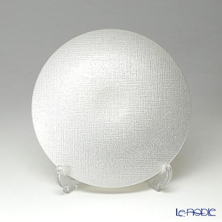 Vetro Felice 'Glitter' White Plate 14cm