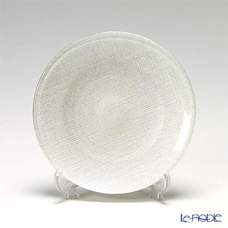 Vetro Felice ヴェトロ・フェリーチェ グリッター 323914B プレート 14cm ホワイト G014 4/16