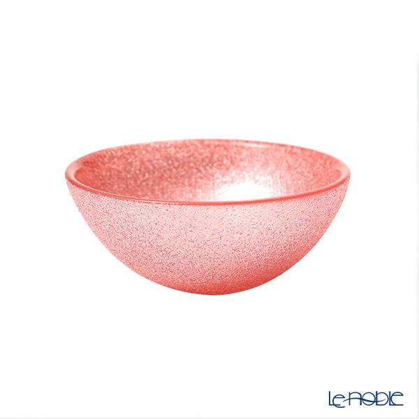 Vetro Felice 'Glitter' Vintage Rose Pink Bowl 9cm