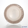 Vetro Felice Flash 349121 Pearl White plates 21.5 cm (4/16) x ginger