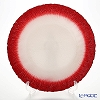 Vetro Felice Flash 349133 Plate 33 cm (1/12) White Pearl / Red