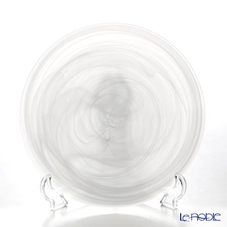 Vetro Felice ヴェトロ・フェリーチェ アラバスター 38521Pプレート 21cm ホワイト(マット仕上げ) 4/16