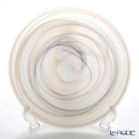 Vetro Felice Alabaster 38528 Plate 28 cm taupe (matte finish) 2/12