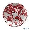 Vetro Felice 'Acanthus' Red Plate 21cm