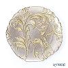 Vetro Felice 'Acanthus' Gold Plate 21cm