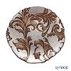 Vetro Felice 'Acanthus' Brown Plate 21cm