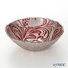Vetro Felice 'Acanthus' Red Bowl 17cm