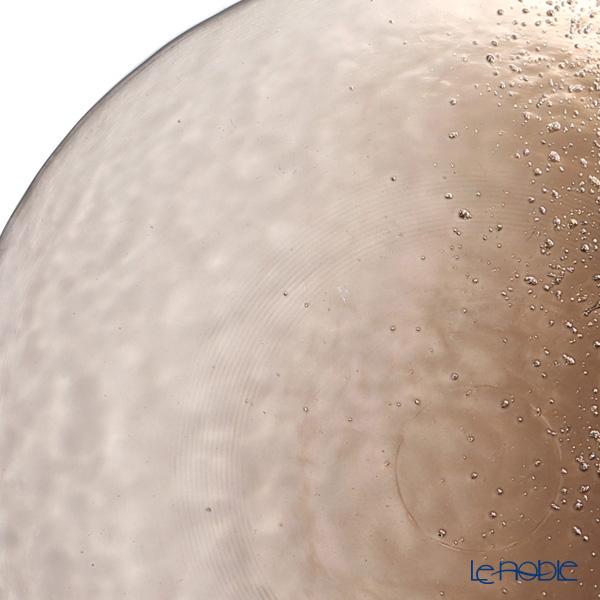 Vetro Felice 'Horizon' Bronze Plate 21.5cm