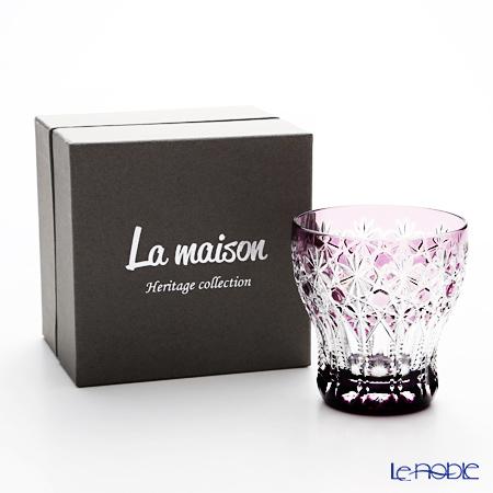 La maison Heritage 'Palais-Royal' Violet Old Fashioned Glass 260ml