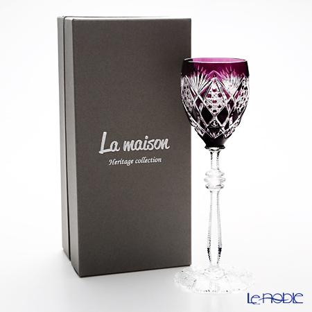 La maison Heritage 'Orsay' Violet Wine Glass 160ml